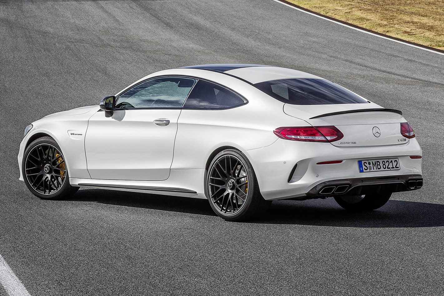 2017 Merc AMG C63 S Coupe rear