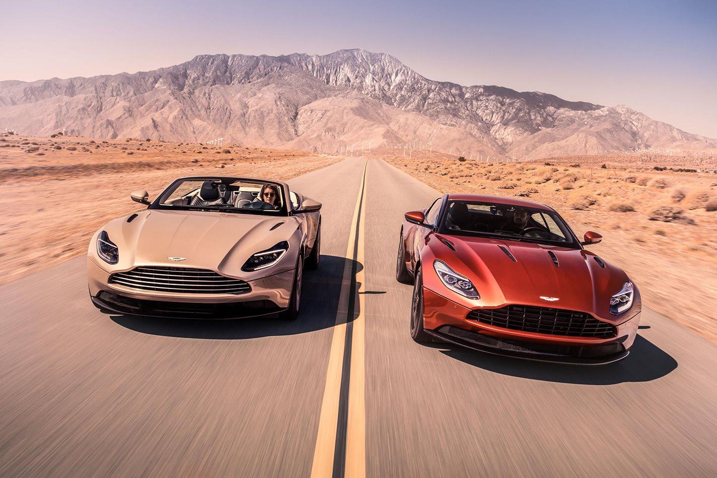 Aston Martin DB11 Volante driving.jpg