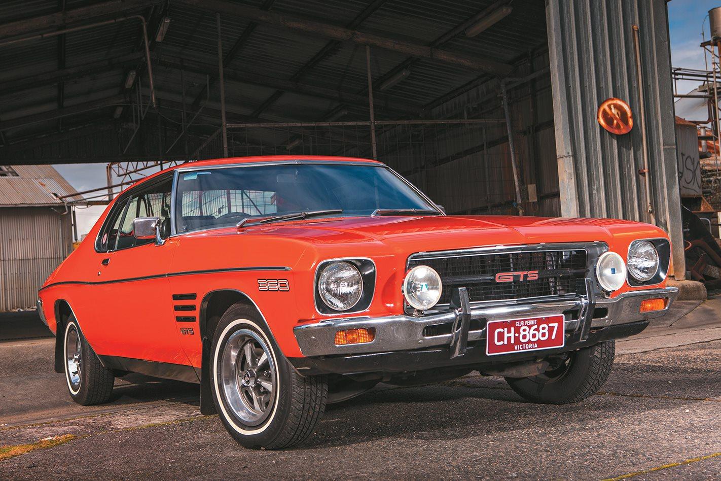 Holden's Pre-Commodore Heroes: HQ Monaro GTS 350