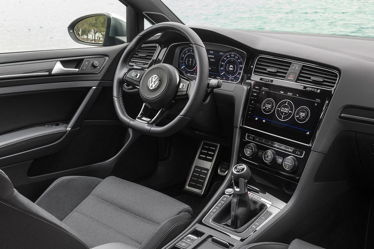 2017 Volkswagen Golf R manual interior.jpg