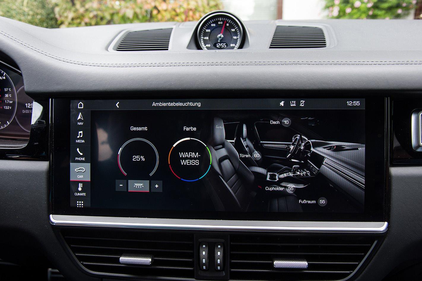 2018-Porsche-Cayenne-Turbo electronics