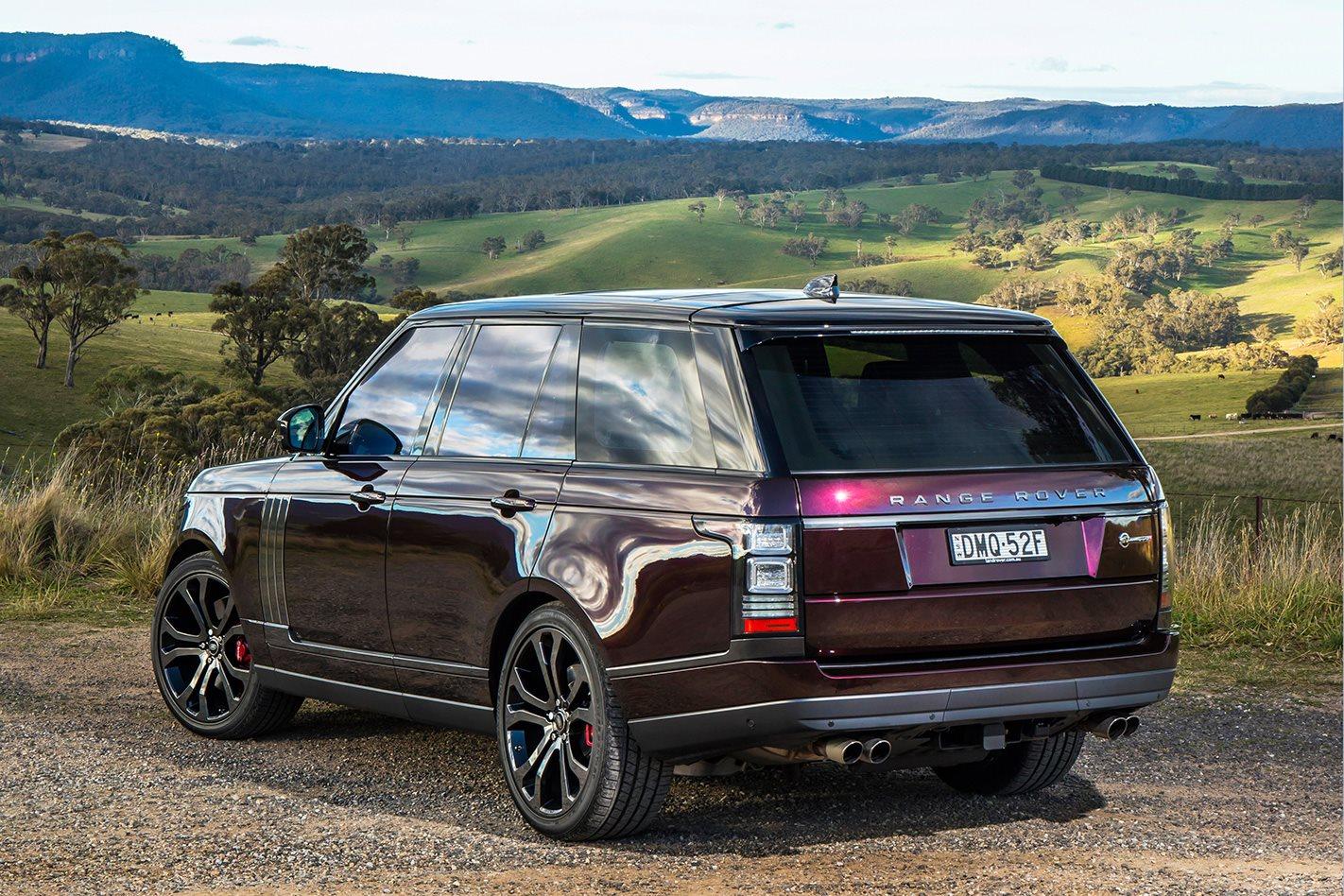 2018 Range Rover SV Autobiography Rear