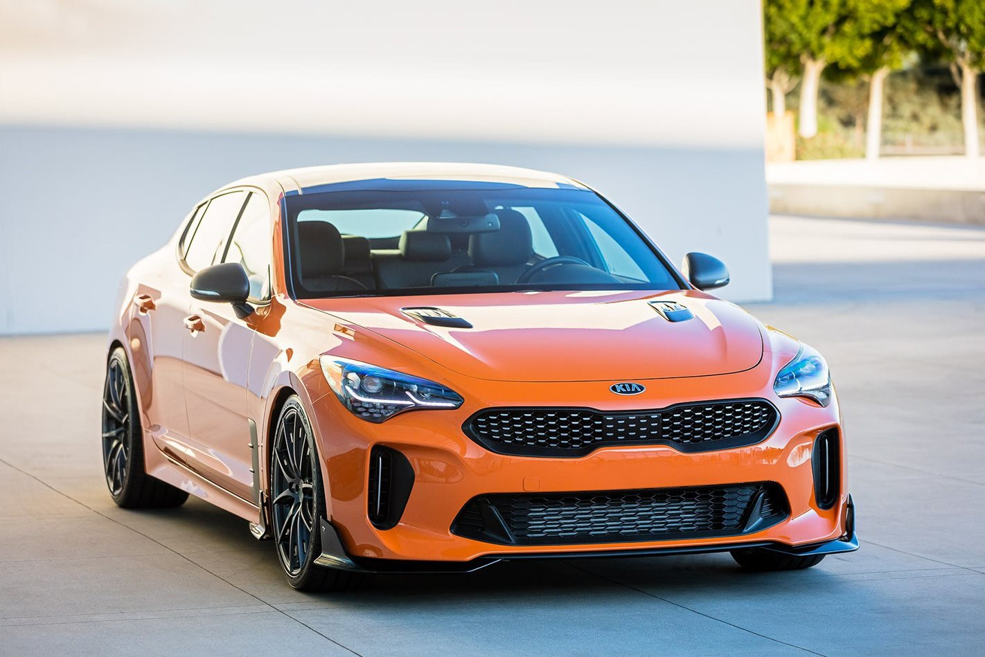 SEMA 2017: Kia Stinger aftermarket special editions revealed