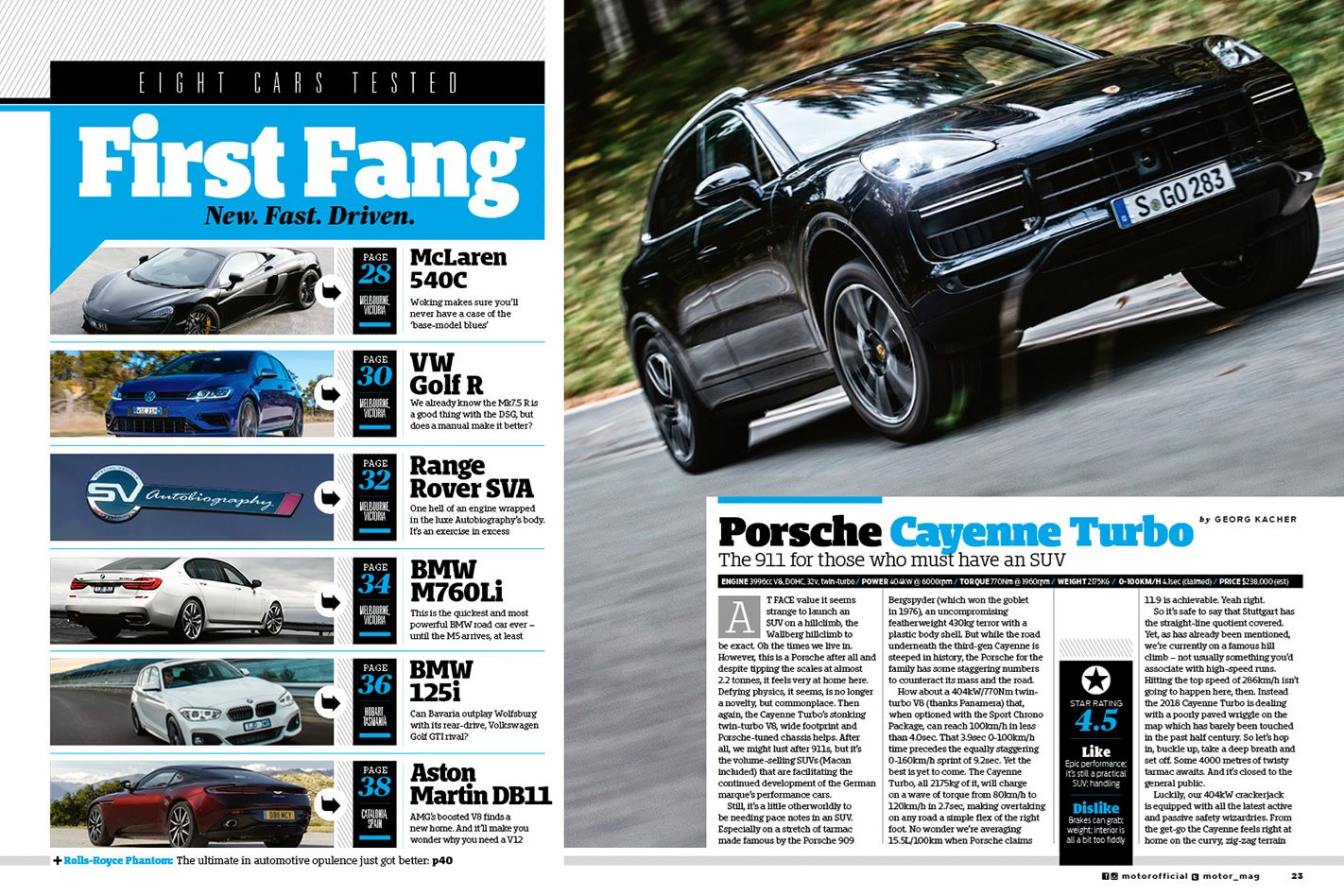 Porsche Cayenne Turbo review