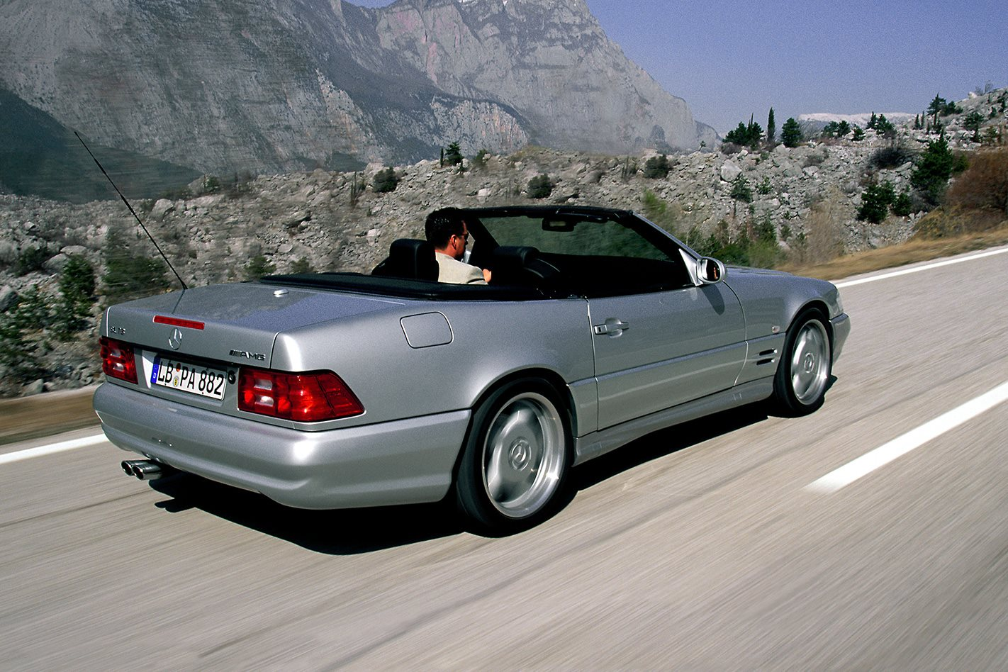 SL73 AMG rear