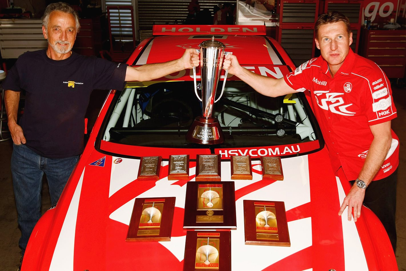 Mark Skaife's ATCC/V8 Supercar trophies