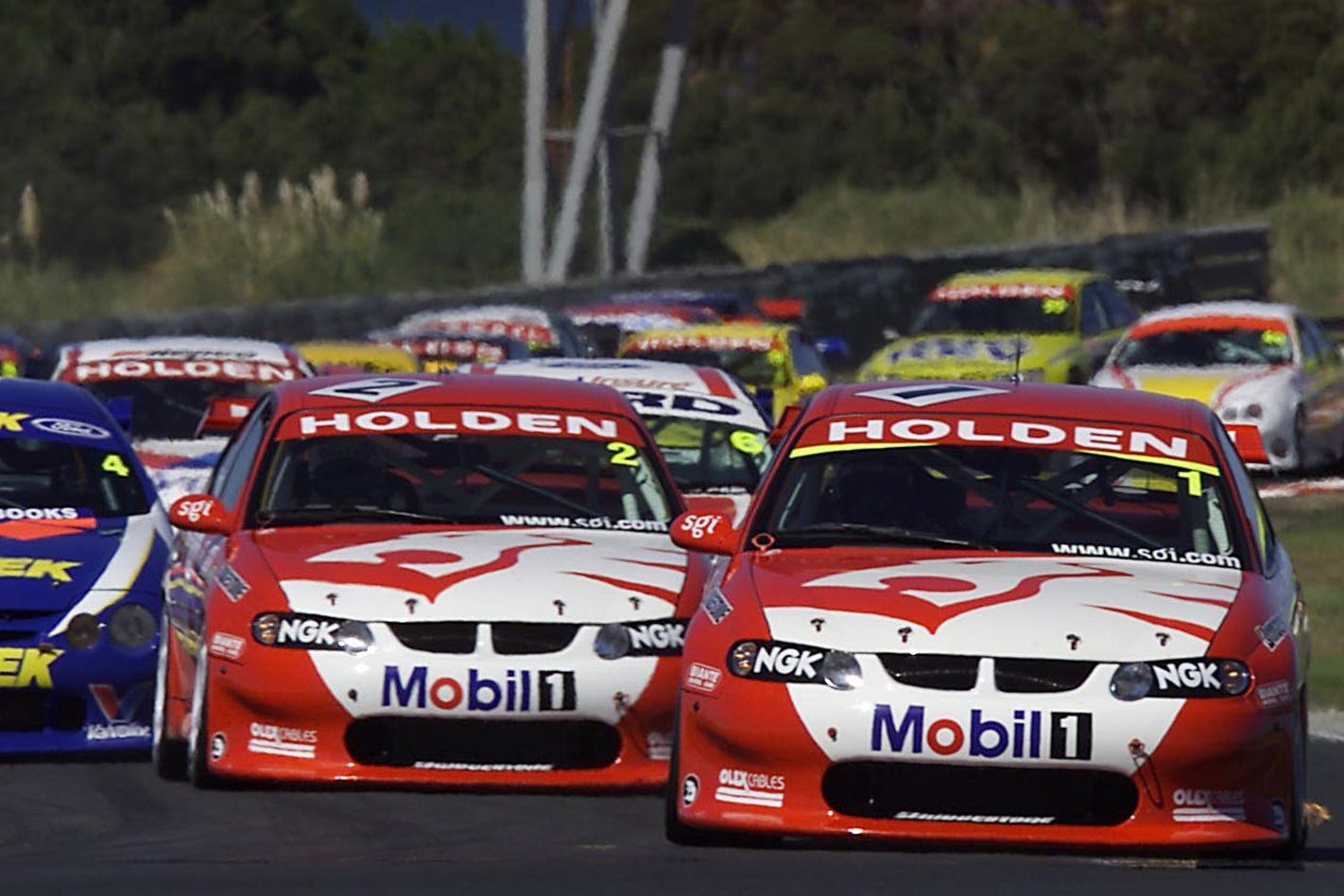 V8 Supercars Holden VE Commodore