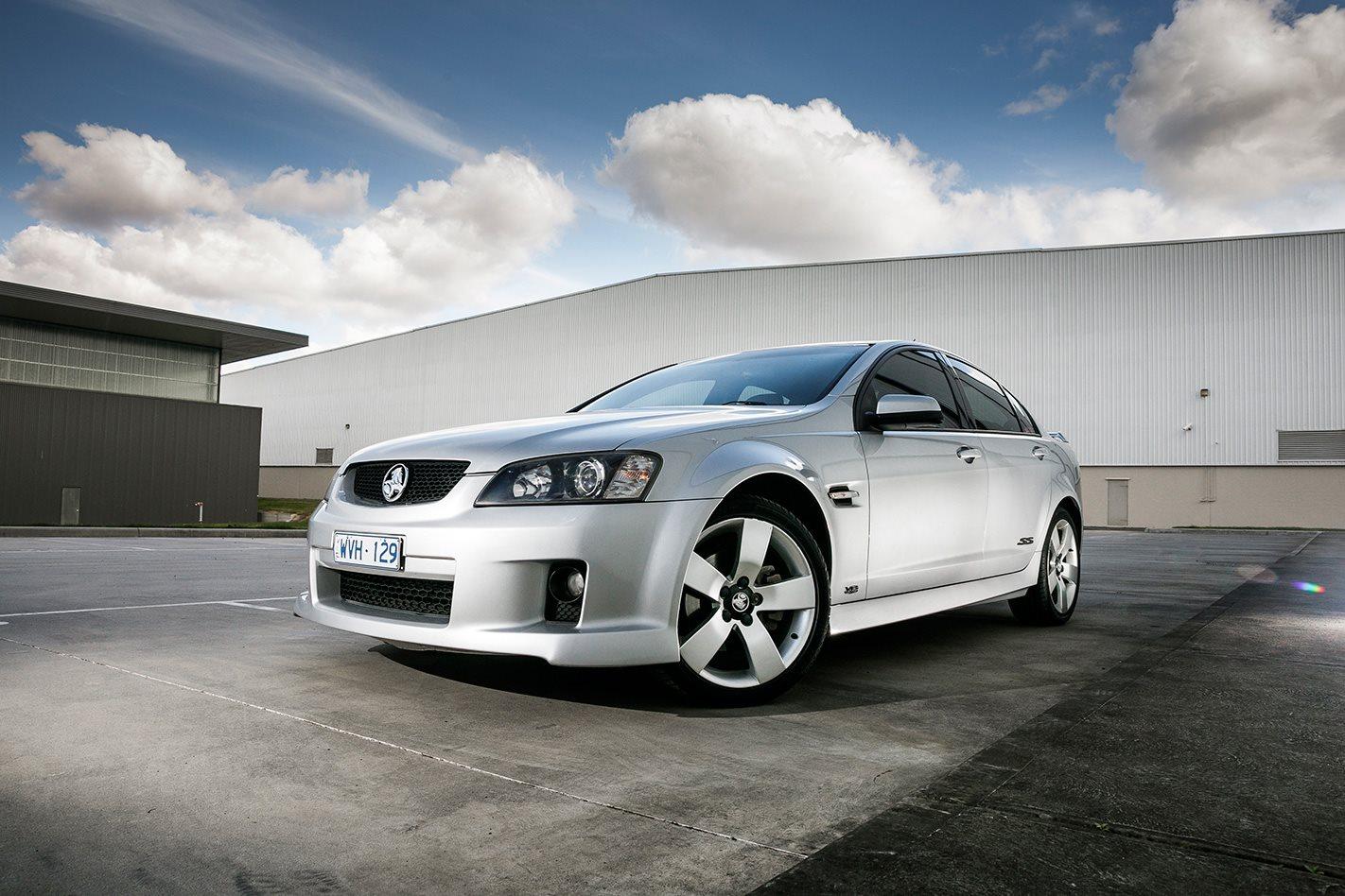 Holden VE SS-V Commodore exterior.jpg