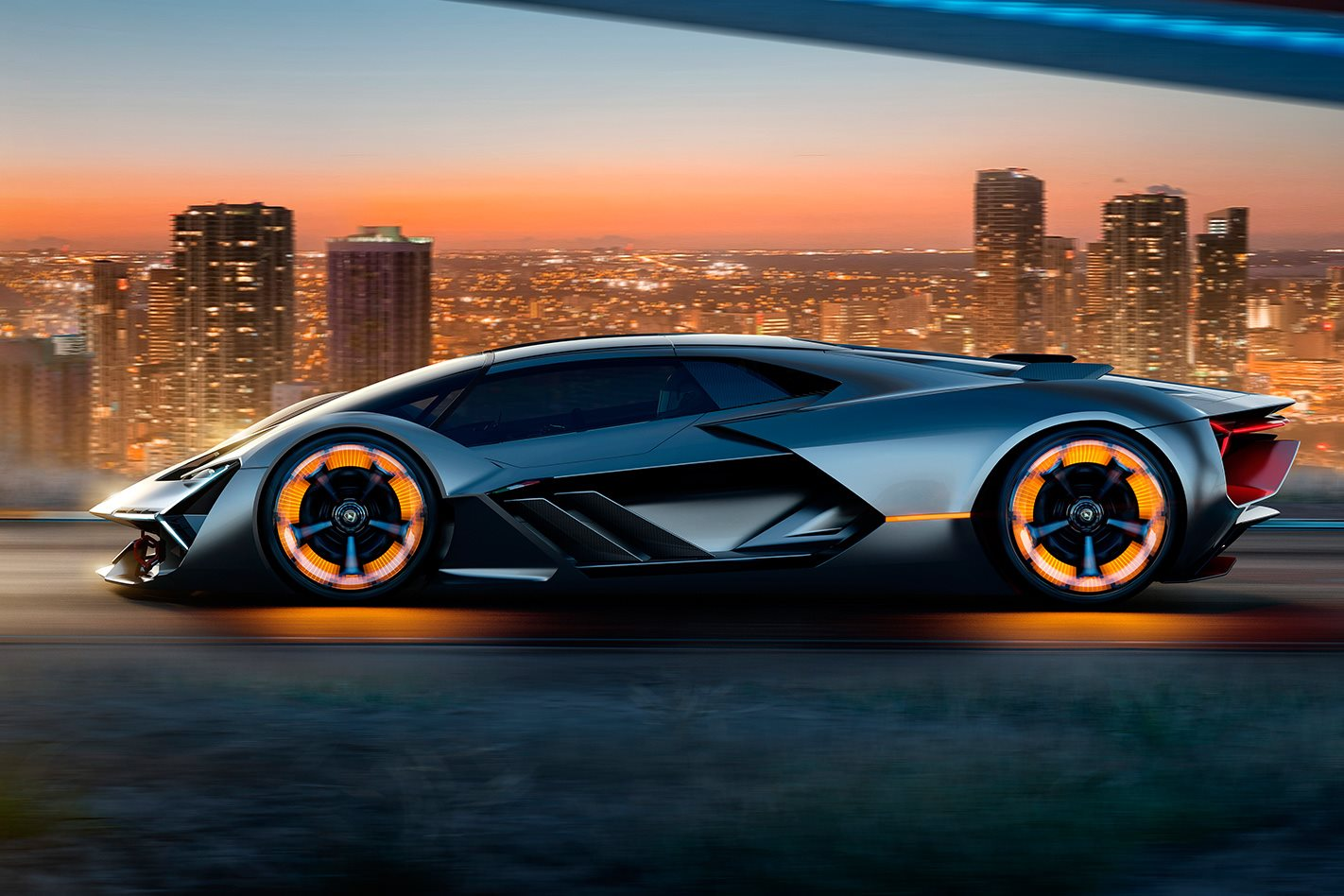 Lamborghini sets sights on electrified future with Terzo Millennio concept