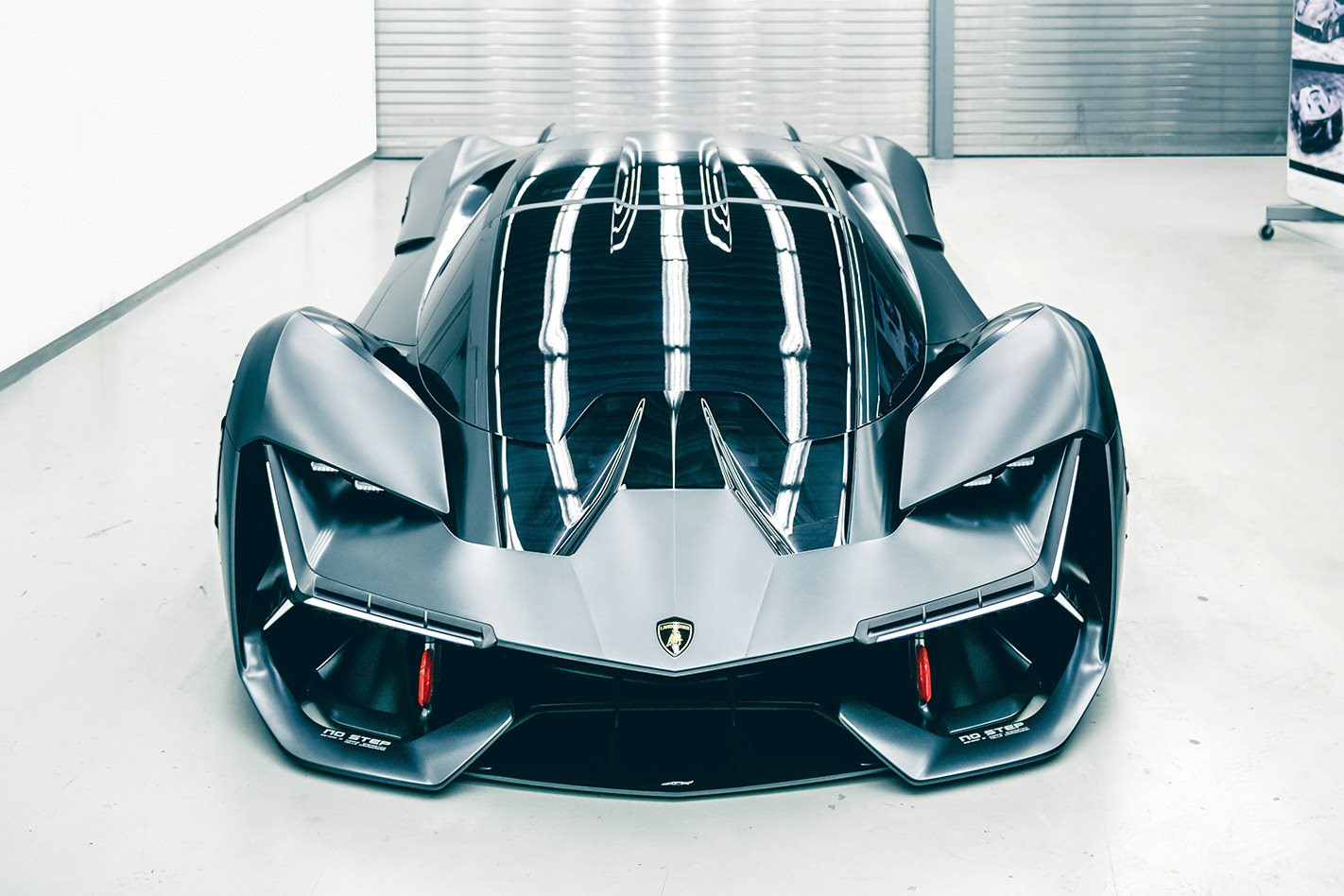 Lamborghini unveils the self-healing supercar of the future