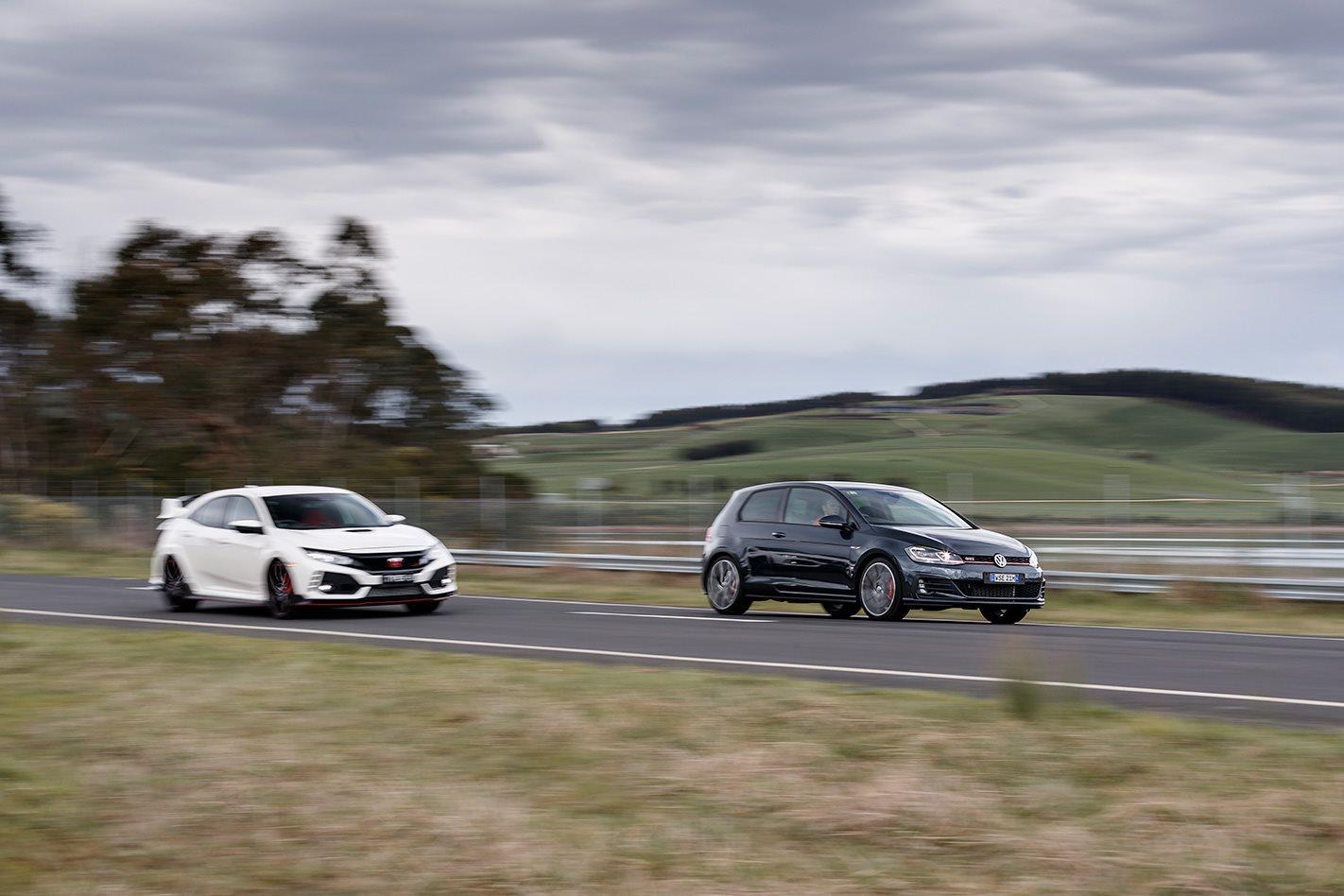 Volkswagen Golf GTI P vs Honda Civic Type R  testing.jpg