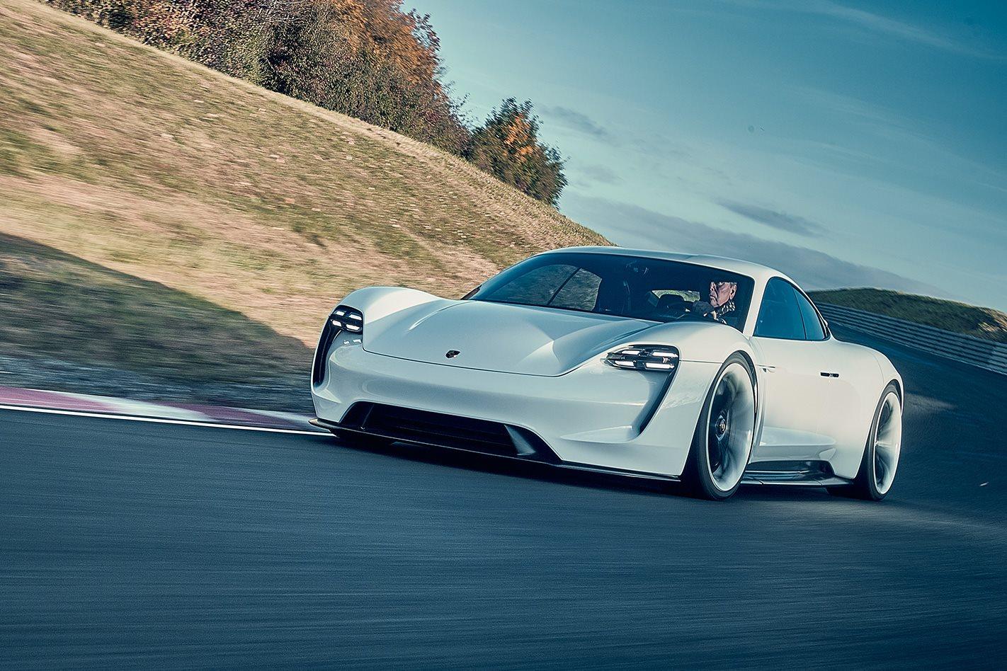 Porsche Mission E drive
