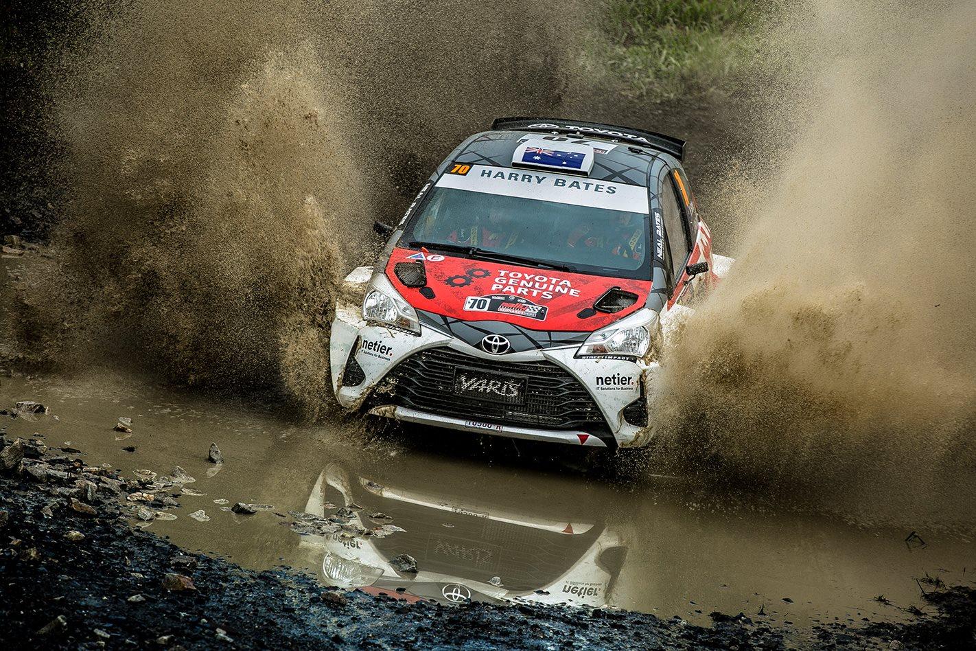 2017 Toyota Yaris AP4 watercrossing