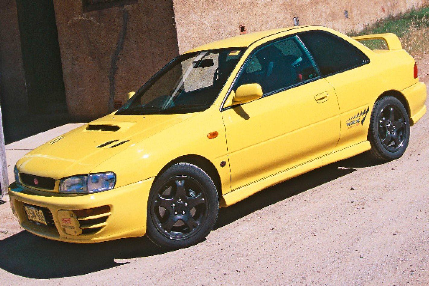 1999 subaru wrx specs