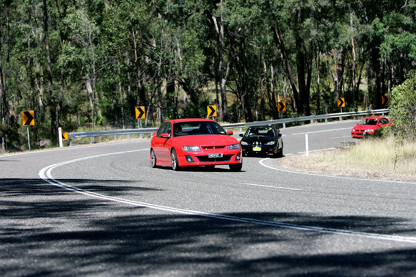 Subaru WRX STi vs Mitsubishi Evo IX vs HSV Clubsport testing.jpg