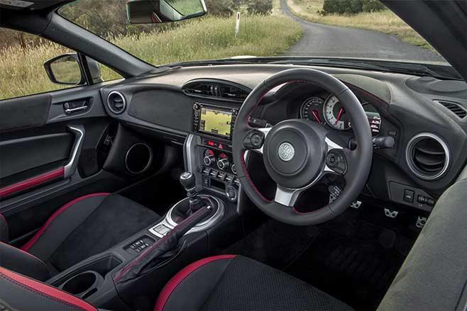 Toyota 86 upgrades interior