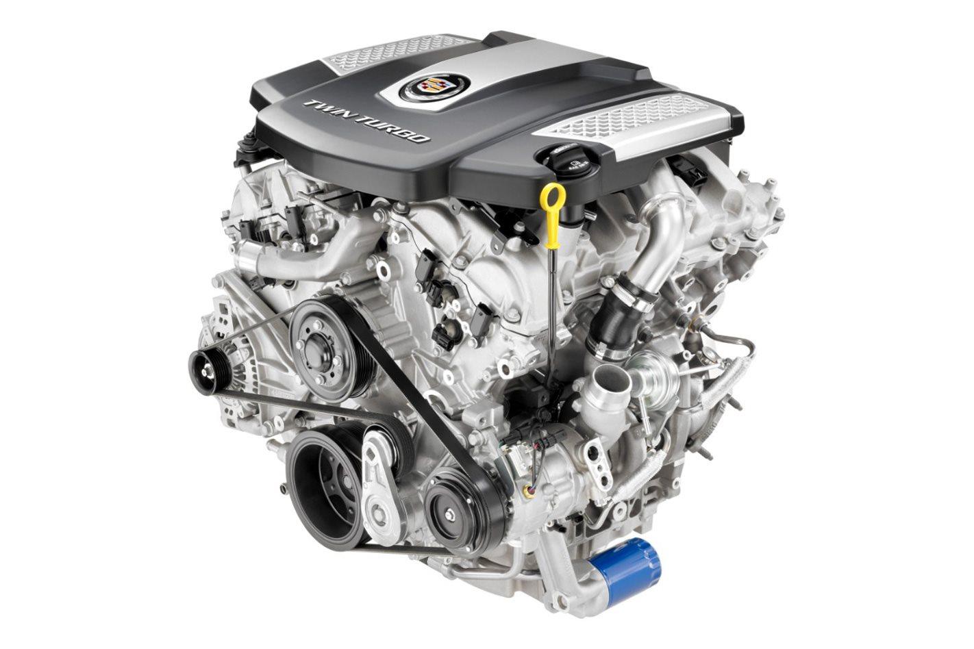 Cadillac LF3 engine