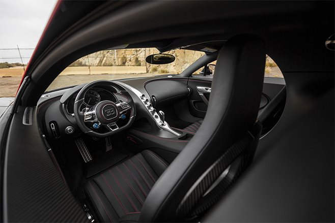 2018 Bugatti Chrion number one interior