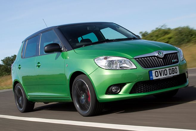skoda oz says no fabia rs ing hints at future electric version Skoda Fabia R5 Rally Car how a small hatch will turn emissions free technology into performance isn t very clear