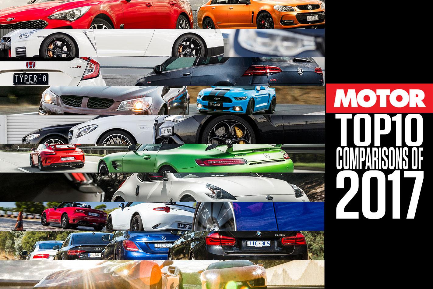MOTOR's Top 10 Comparisons of 2017   MOTOR