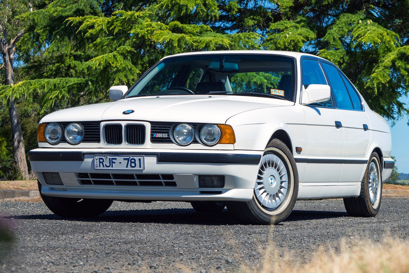 bmw e34 m5 added to bmw aus heritage fleet. Black Bedroom Furniture Sets. Home Design Ideas