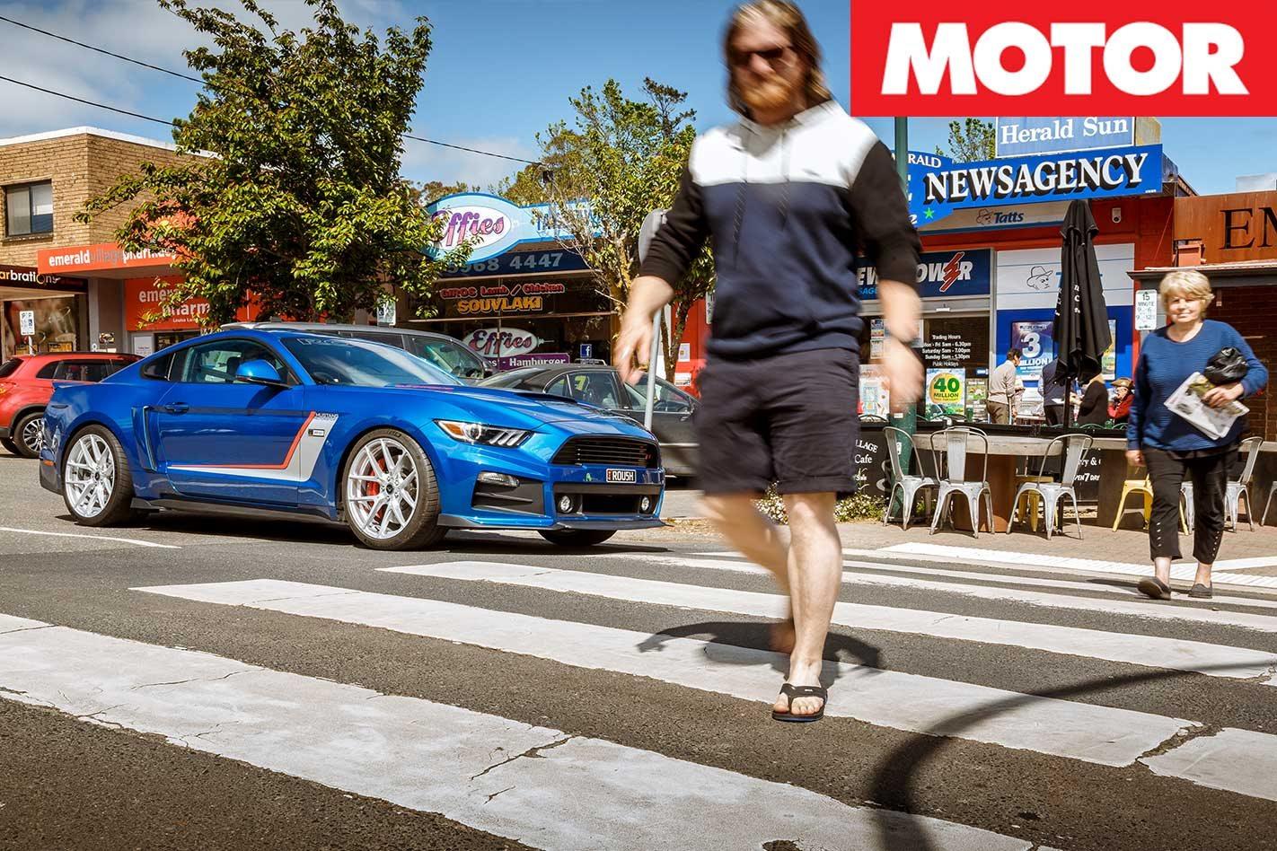 Mustang Motorsport R727 road review