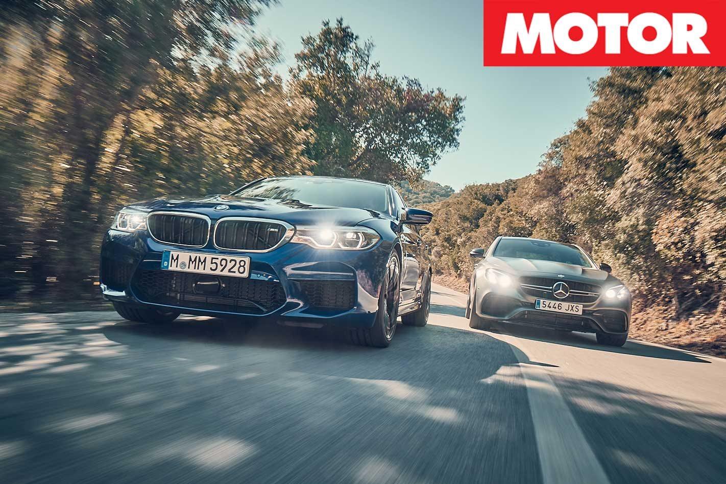 2018 Bmw M5 Vs 2018 Mercedes Amg E63 S Comparison Review