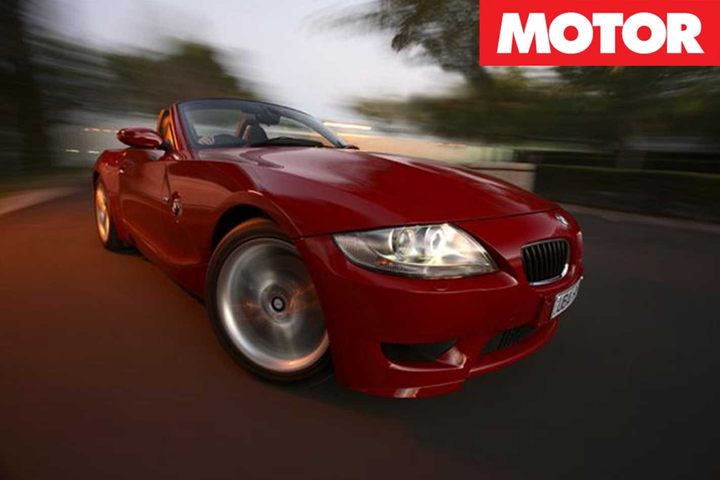 2008 z4m convertible review