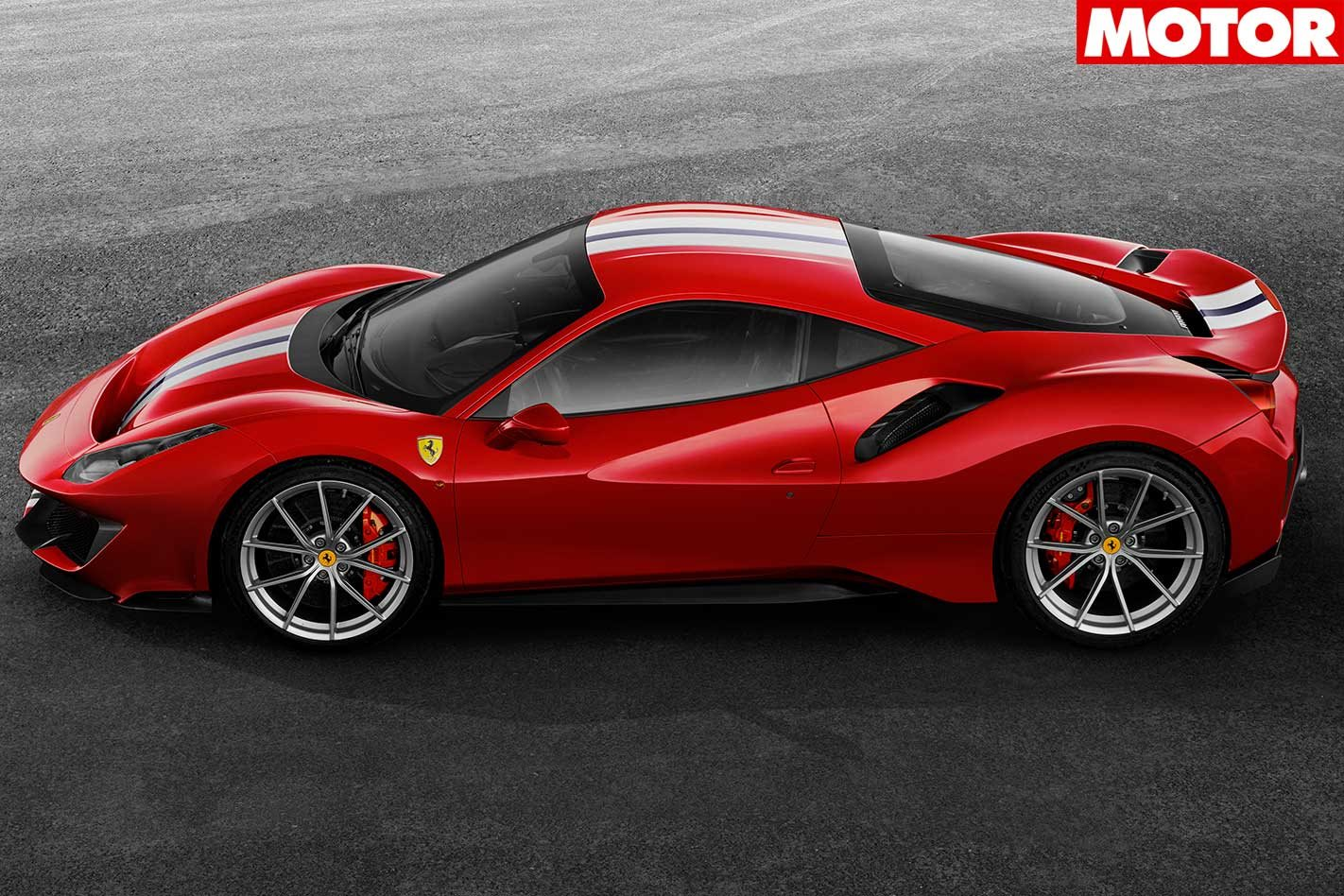 Pista Boasts Ferrari's Most Powerful V-8 Ever