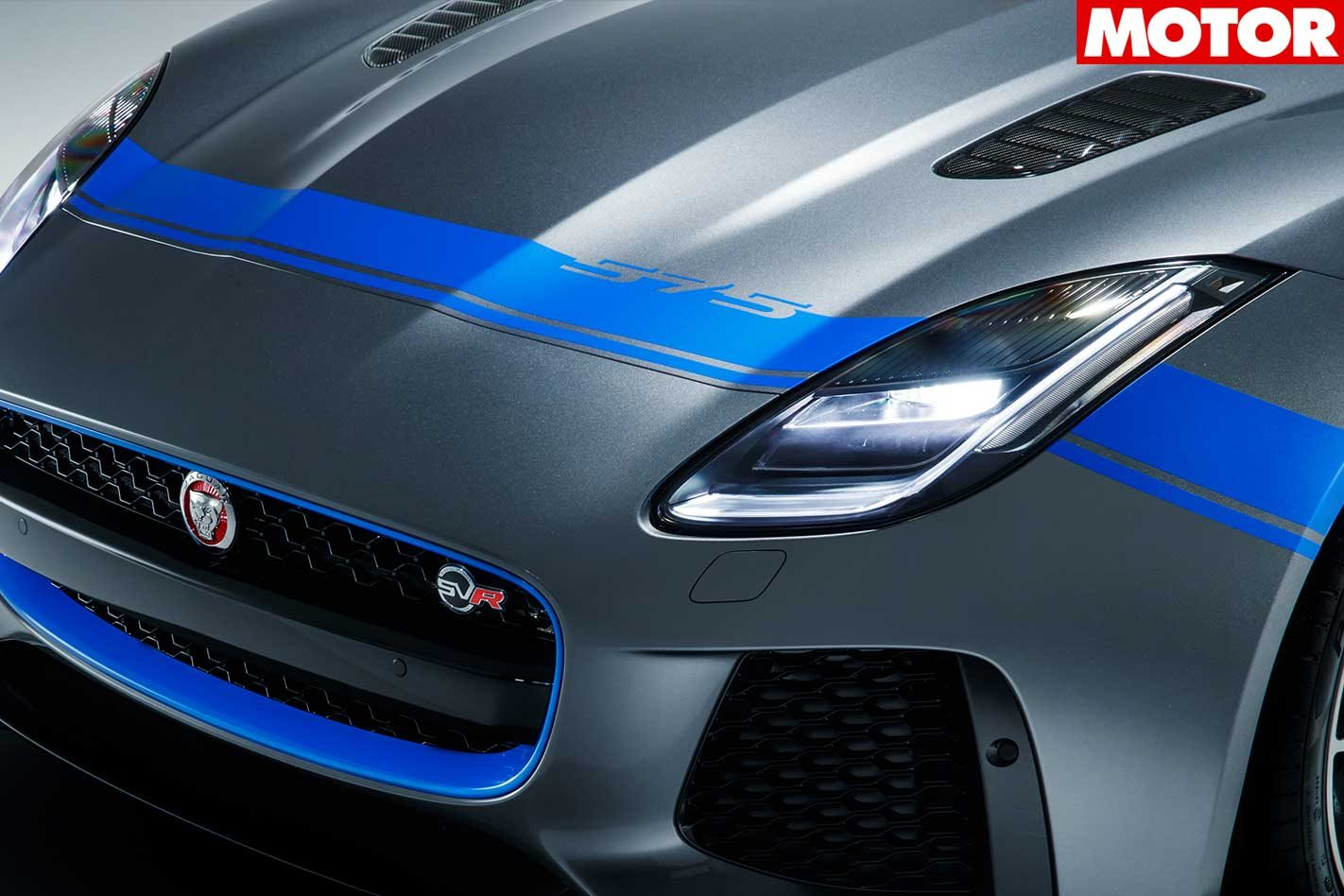 Jaguar F-Type SVR Graphic Pack is a no cost option