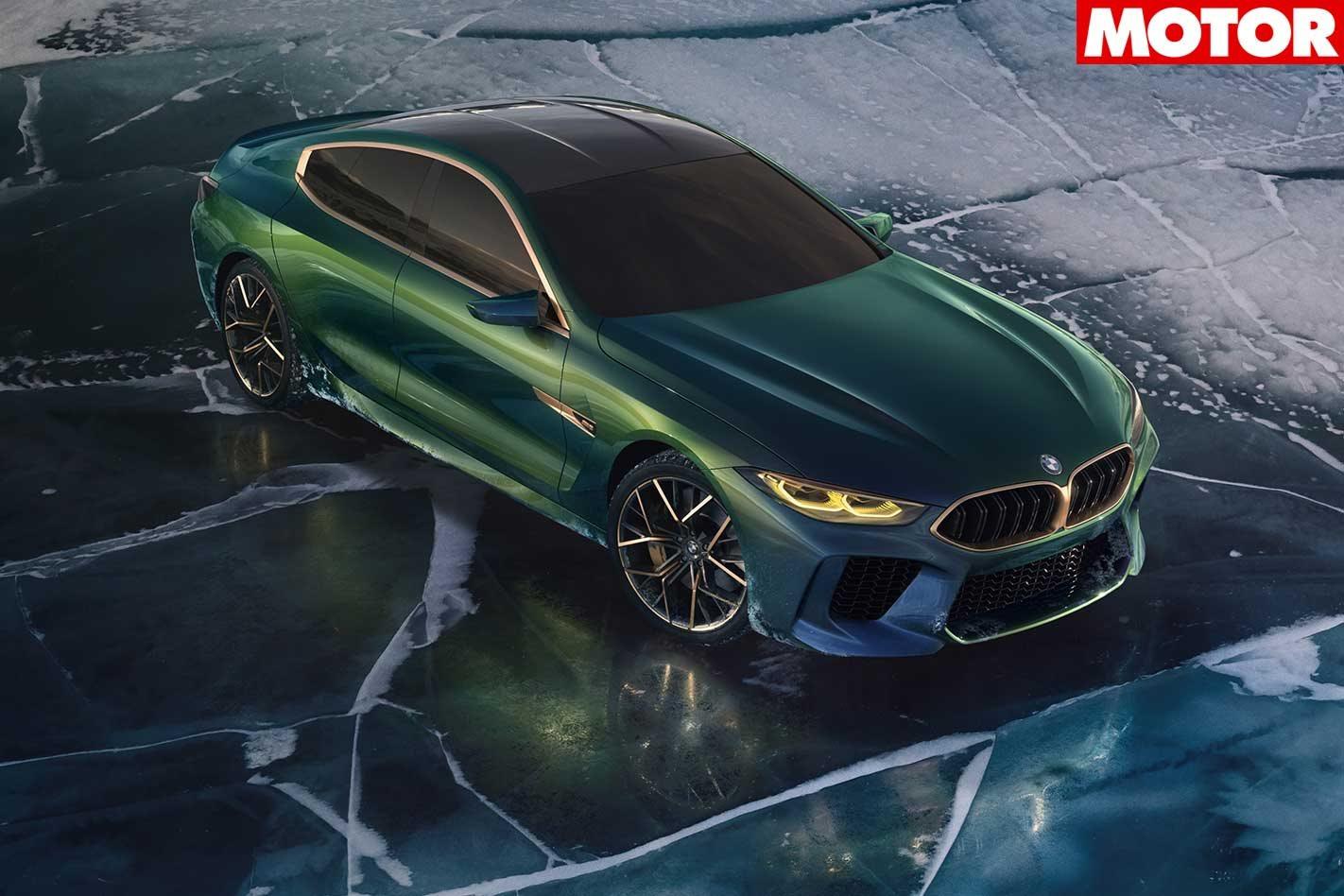 Geneva Motor Show BMW M8 Gran Coupe Concept Revealed