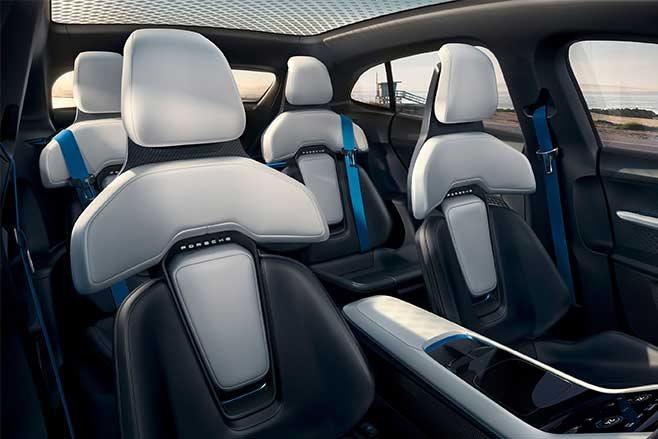 Porsche Mission E Cross Turismo seats
