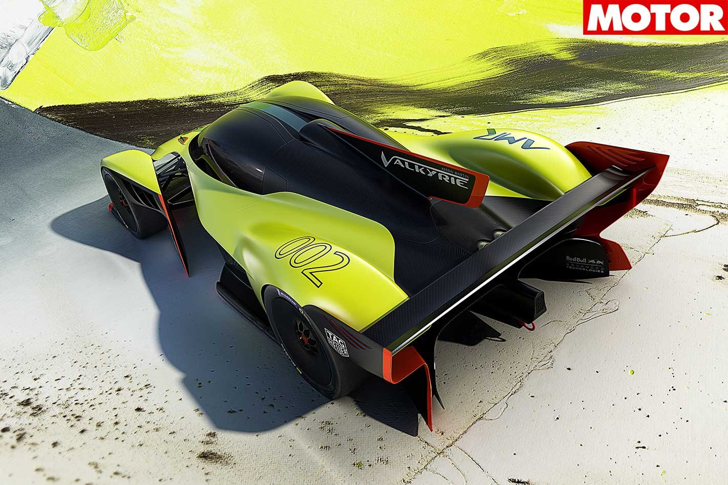 Aston Martin presented the tuning version of the hypercar Valkyrie