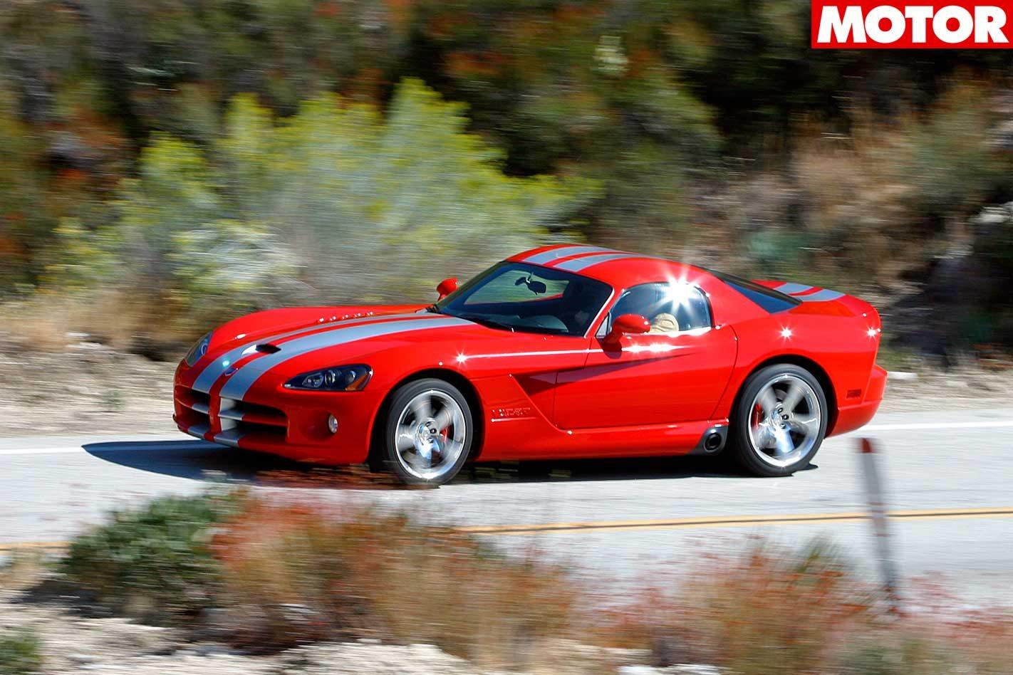 2006 dodge viper srt10 coupe review classic motor. Black Bedroom Furniture Sets. Home Design Ideas