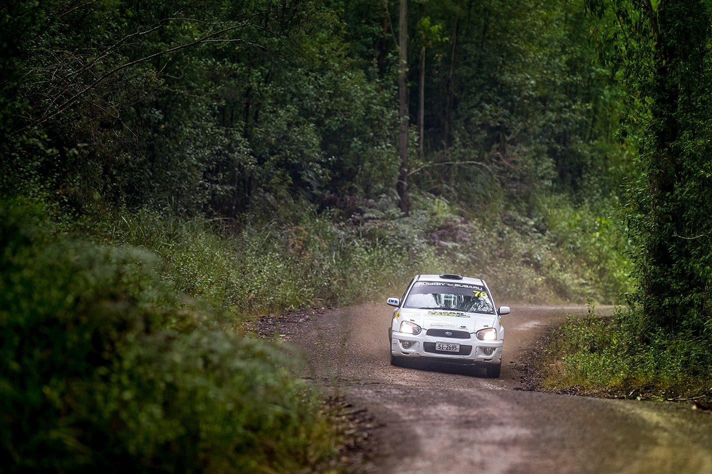 Subaru Impreza RS scenery