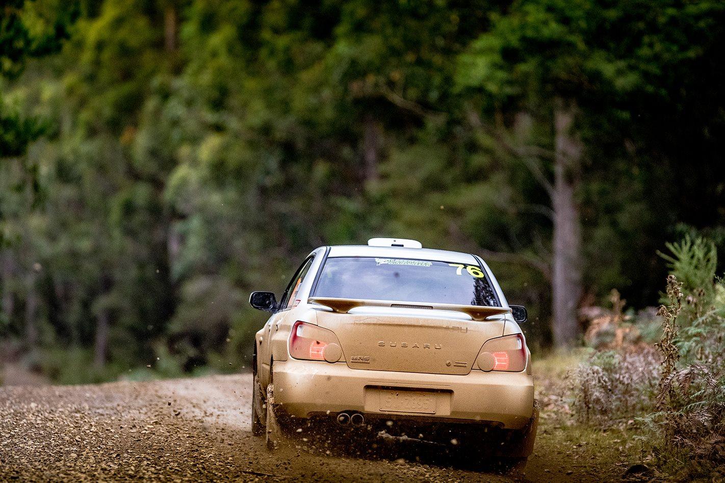 Subaru Impreza RS rear