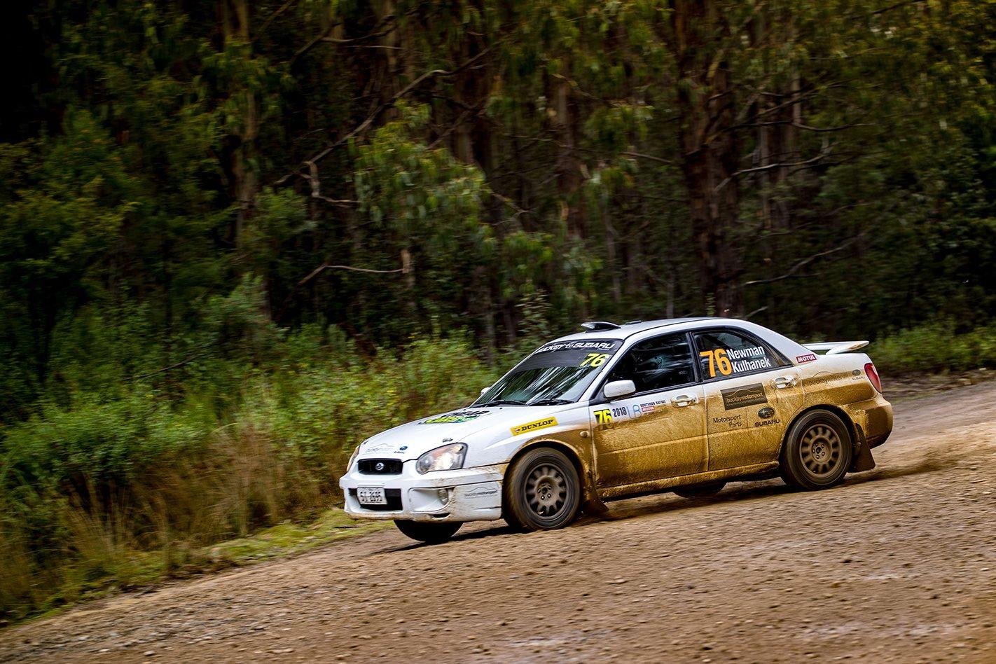 Subaru Impreza RS drift