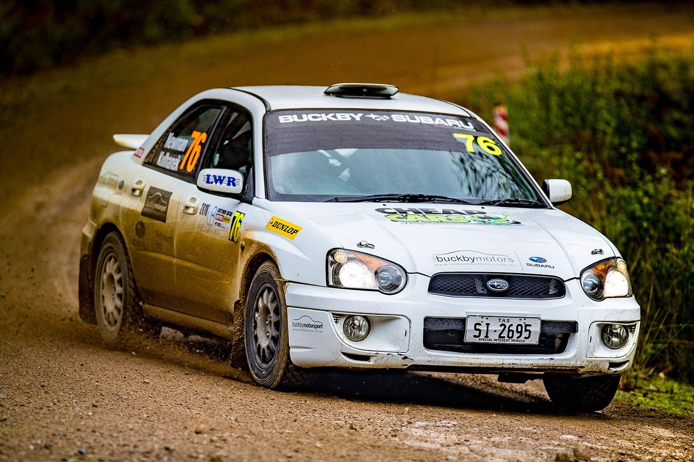 Subaru Impreza RS action