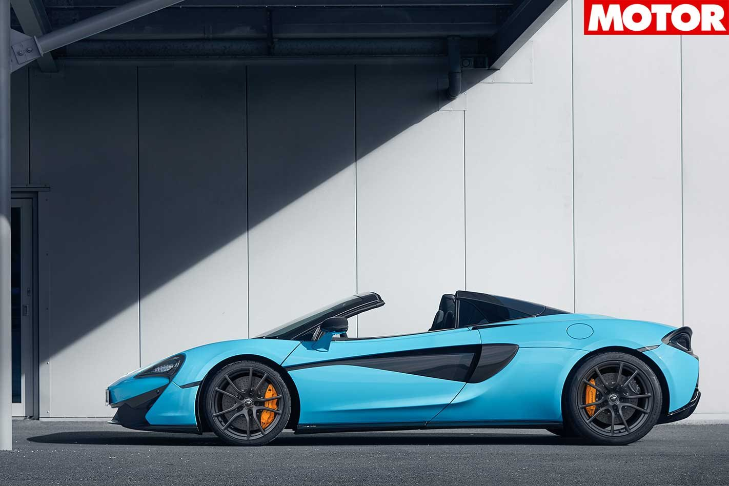McLaren 570S Spider track pack revealed