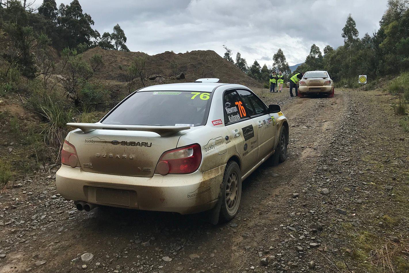 Subaru Impreza RS 4
