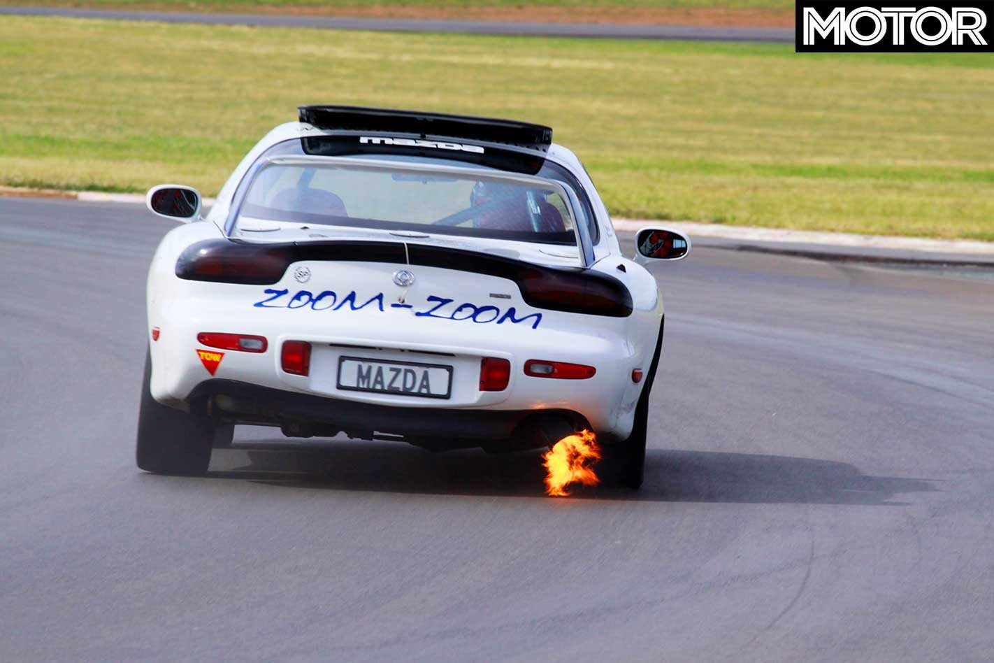 1995 Mazda Rx 7 Sp Quick Review Classic Motor 3 0 Engine Diagram Its Been Several Years Since The 7s 235 45zr17 Bridgestone Semi Slicks Have Even Remotely Warm So My First Half Dozen Laps Concentrate On Getting