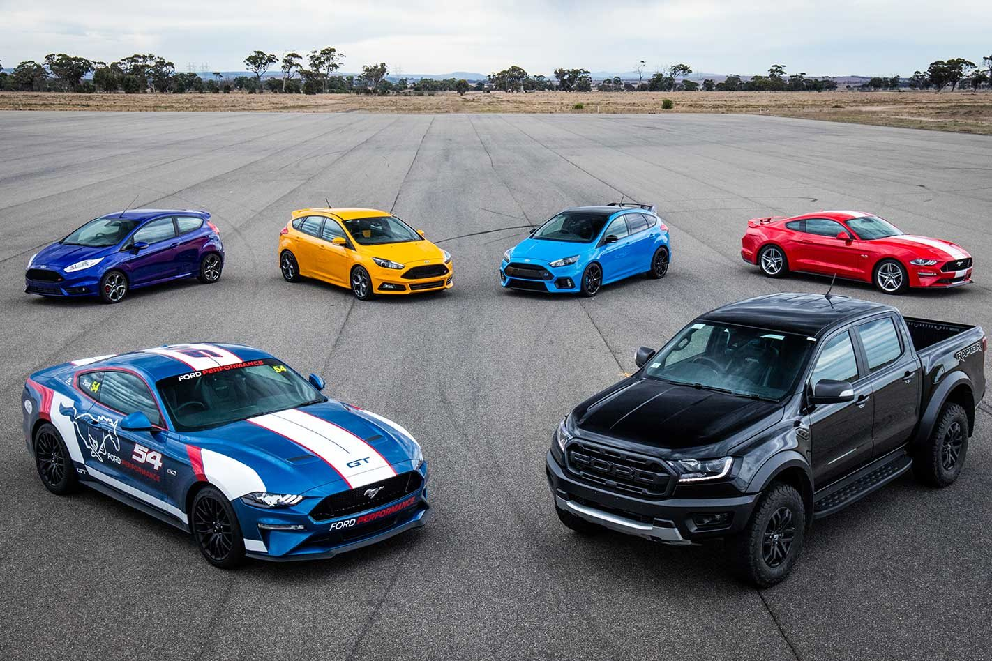 Ford performance launches in australia
