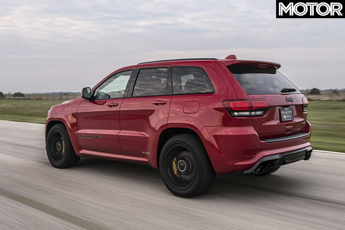 Hennessey Jeep Trackhawk makes 746kW