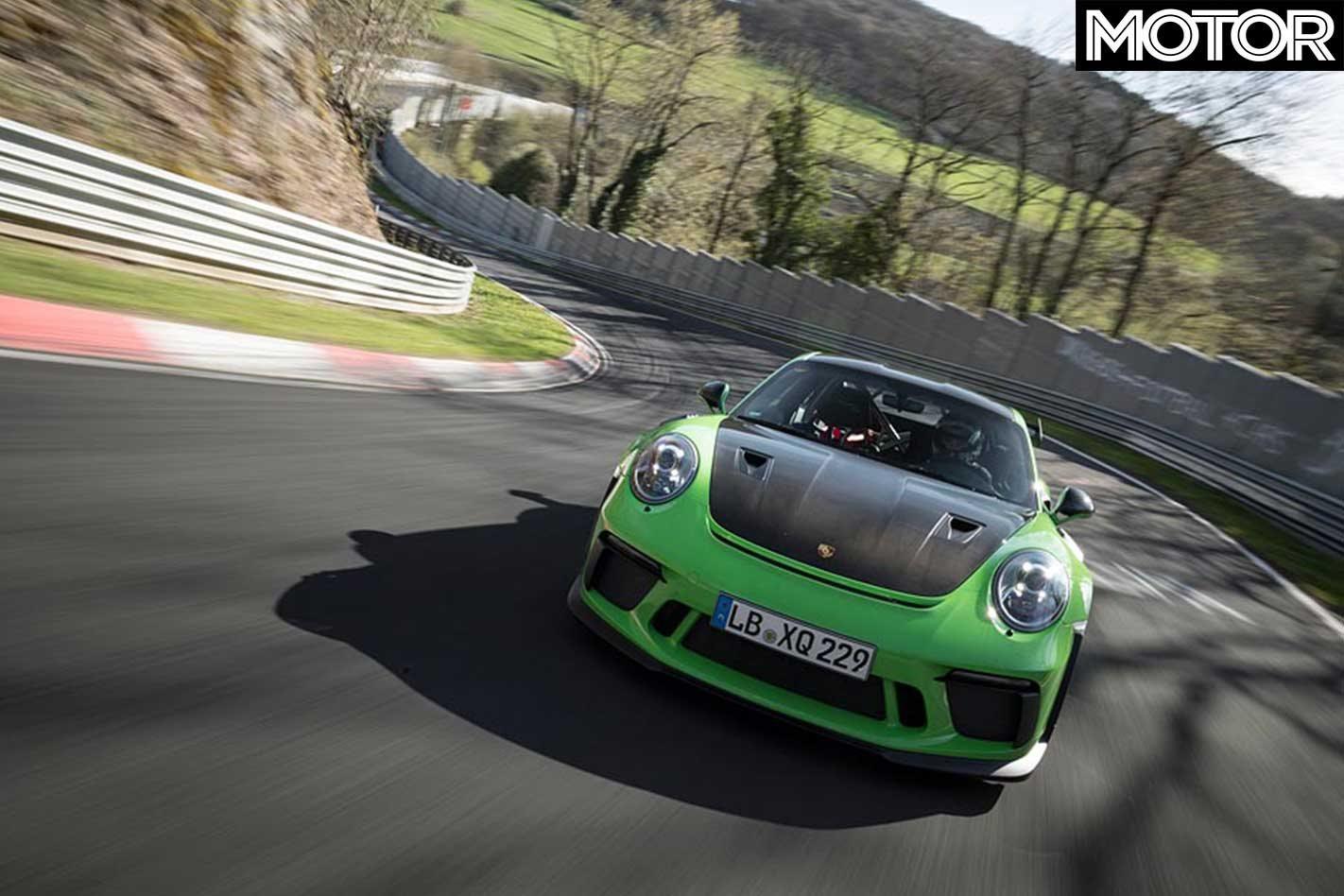 2018 Porsche 911 GT3 RS laps Nurburgring under 7 minutes