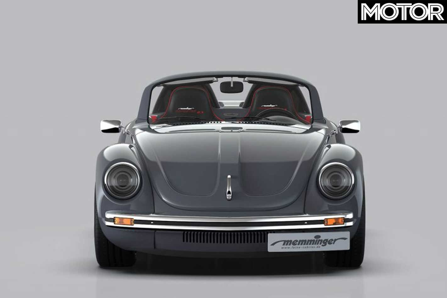 memminger gives vw beetle bigger engine and new face rh whichcar com au 68 Yellow VW Beetle Custom VW Beetle