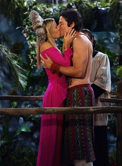 **Brooke and Ridge**  Another wedding of #Bridge, another kiss. This was definitely the most interesting of all of their weddings.