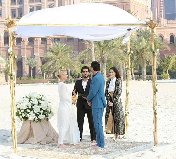 **Brooke and Bill**  The couple travelled to Dubai for their wedding, but it was interrupted by Ridge who stole Brooke away during the ceremony. Poor Bill.