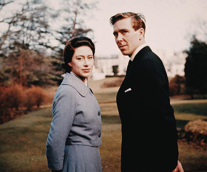 Princess Margaret wasn't allowed to marry her first love, Group Captain Peter Townsend. But she went on to wed Lord Snowdon, before succumbing to divorce.