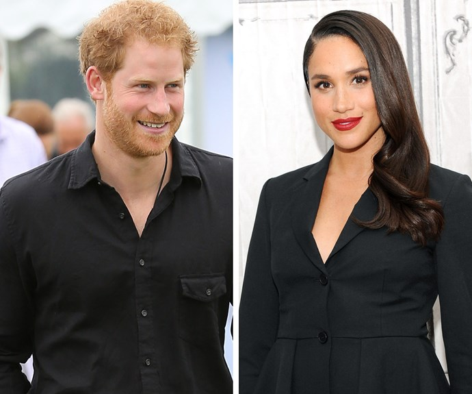 Harry has suited up for his new love, Meghan Markle.