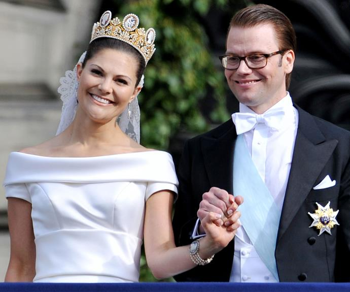 Princess Victoria ran head first into love with her fitness beau Daniel.